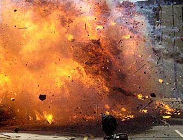 बम विस्फोट