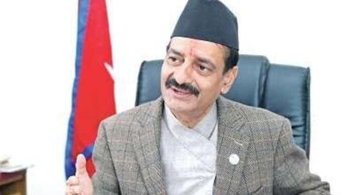 नेपाली काङ्ग्रेसका नेता नवीन्द्रराज जोशी