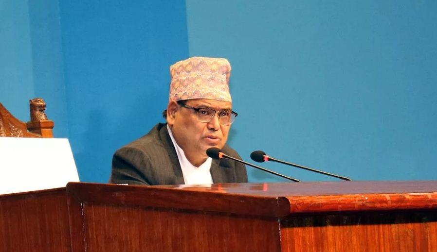 बैठकमा सभामुख कृष्णबहादुर महरा