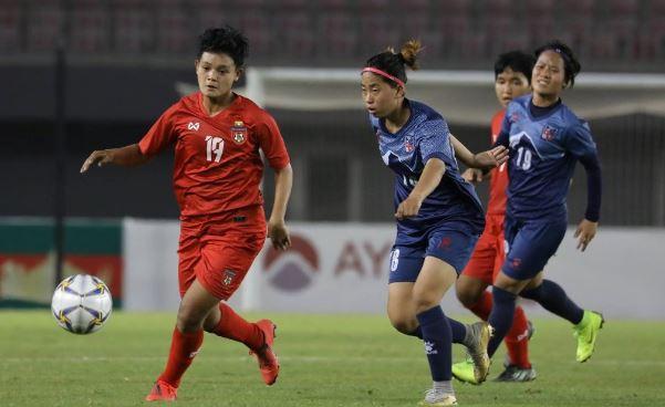 नेपाल म्यान्मारसँग ३-१ ले पराजित