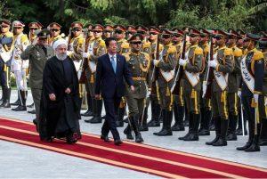 जापानी प्रधानमन्त्री आबे इरान भ्रमणमा
