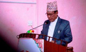 गण्डकी प्रदेशका आर्थिक मामिला तथा योजनामन्त्री किरण गुरुङ