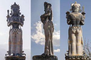 मञ्जुश्रीको विशाल मूर्ति