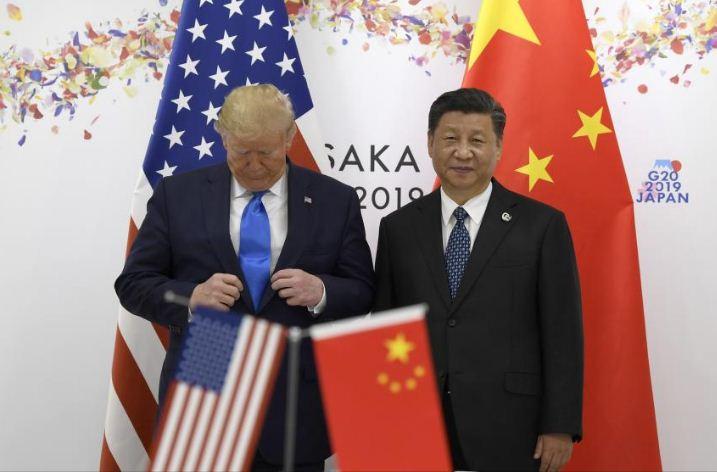 चिनियाँ राष्ट्रपति र अमेरिकी राष्ट्रपतिबीच जापानमा भेटवार्ता