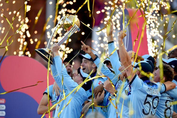 आइसीसी विश्वकप क्रिकेटको उपाधि इंग्ल्याण्डलाई