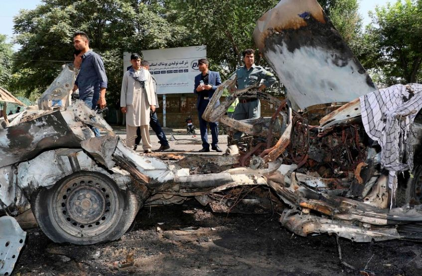 काबुल विश्वविद्यालयमा बम विस्फोट