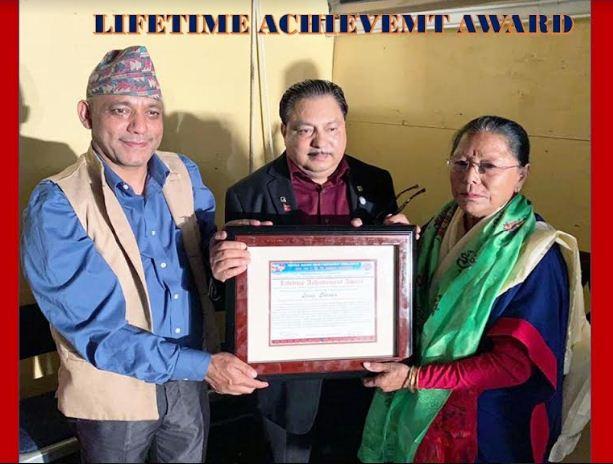 समाजसेवी लक्ष्मी शर्मा अमेरिकामा सम्मानित : सिएनएन हिरोकोको लागि प्रस्ताव