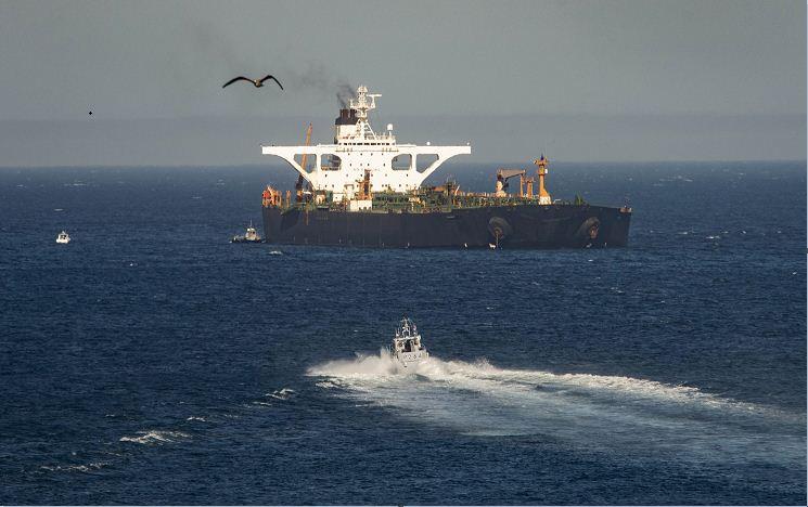 इरानी तेल ट्याँकर गन्तव्यतर्फ प्रस्थान