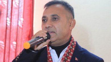 नेपाली काङ्ग्रेसका प्रवक्ता विश्वप्रकाश शर्मा