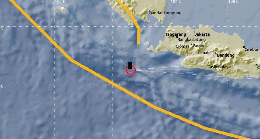 इन्डोनेसियामा ७.४ म्याग्नीच्युडको भूकम्प