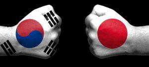 कोरिया-जापान व्यापार द्वन्द्व