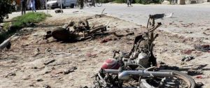 मोटरसाइकल बम विस्फोटमा परी चार जनाको मृत्यु