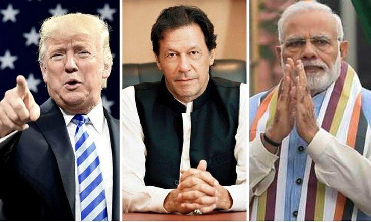 काश्मिरबारे भारत र पाकिस्तानी प्रधानमन्त्रीसँग ट्रम्पको फोनवार्ता