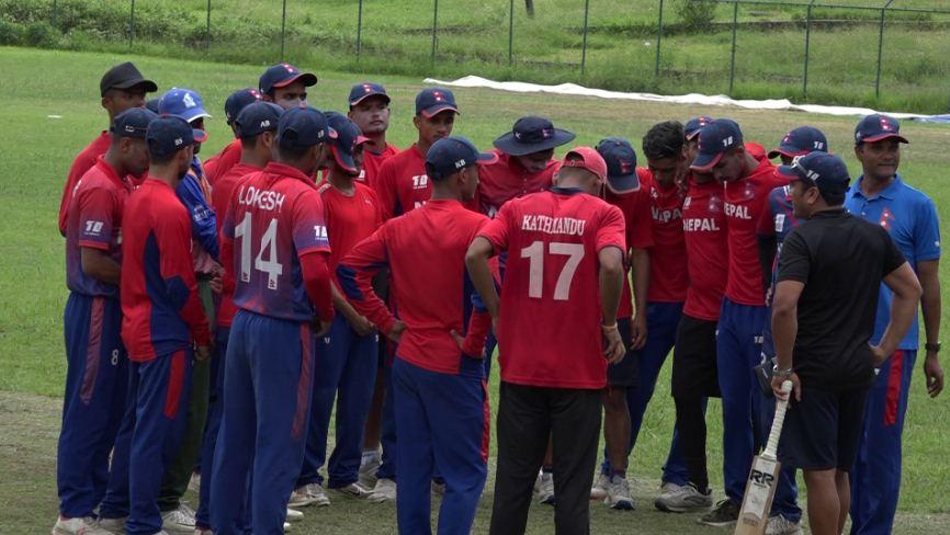 यू-१९ एसिया कप क्रिकेटको लागि खेलाडी
