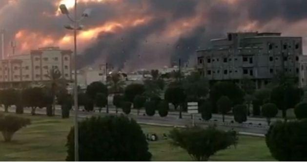 ड्रोन आक्रमणबाट साउदी अरबको तेल प्रशोधन केन्द्रमा आगलागी
