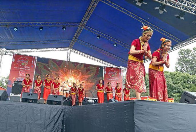 आईआईएमएस कलेजको दशैं कार्निभल तथा नेपाल फुड फेस्टिबल
