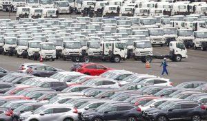 जापानको निर्यात १२ प्रतिशतले घट्यो