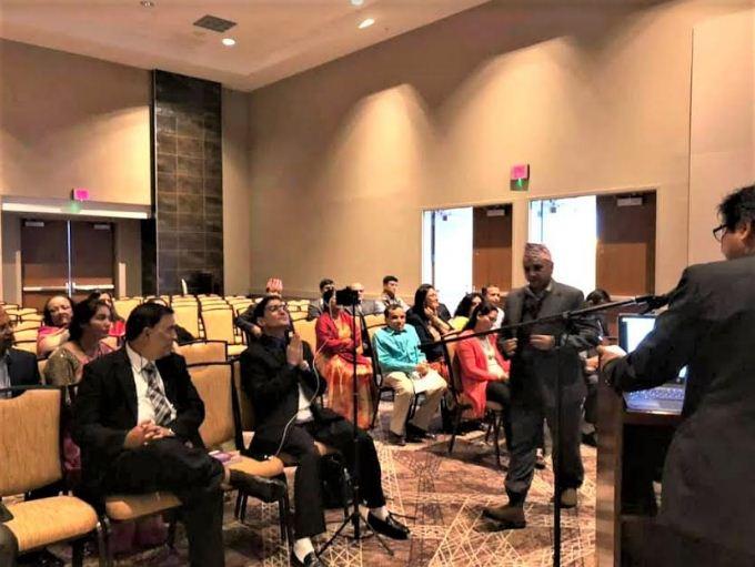 नासा र आन्माकाे संयुक्त सम्मेलनमा नेपाल फाेरममा उच्च बाैद्धिक बहस