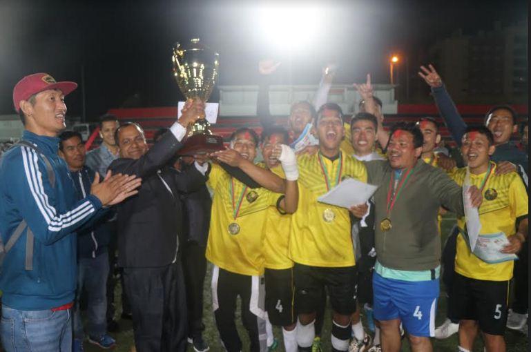 पोर्तुगल सेभेन ए साइड फुटबलको उपाधि नेप्जुम समूहलाई