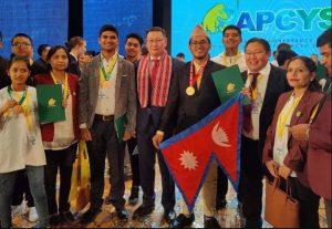 नेपाली वैज्ञानिकले जिते स्वर्णसहित तीन पदक
