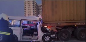 दुबईमा सडक दुर्घटना