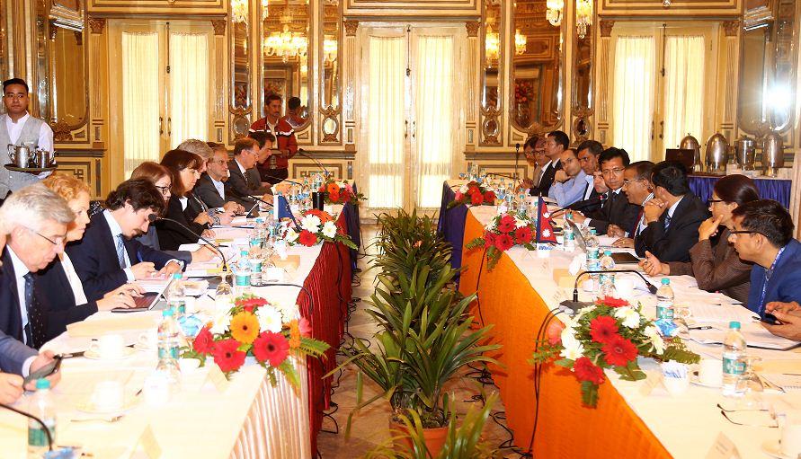 युरोपेली सङ्घ संयुक्त आयोगको बैठक