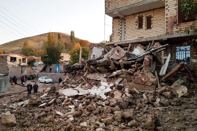 इरानमा भूकम्प