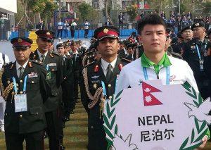 विश्व सैनिक खेलकूद प्रतियोगितामा उहानको त्यो लोभलाग्दो आतिथ्यपूर्ण स्वागत