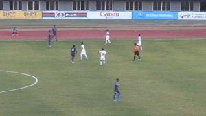 मैत्रीपूर्ण खेलमा नेपाल म्यानमारसँग ३-० ले पराजित