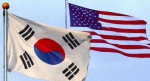 अमेरिका र दक्षिण कोरिया
